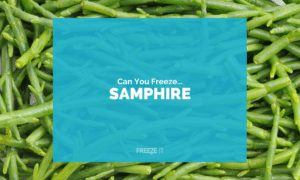 Can You Freeze Samphire