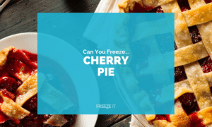 Can You Freeze Cherry Pie